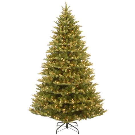 5 or 6ft real feel christmas trees at bargain prices national tree company 7 5 ft feel real normandy fir hinged artificial tree with 1000