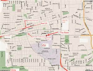 map boulder colorado of colorado boulder hotel