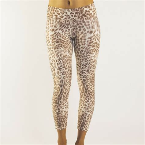 pinterest pattern leggings pattern legging leopard beige liquido active gym style