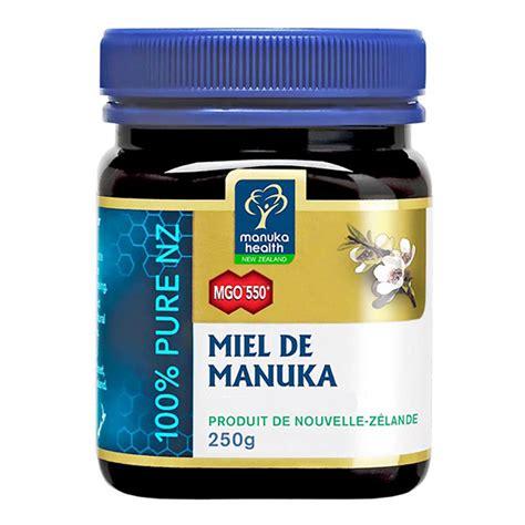 Manuka Health Mgo 550 Madu 250 G miel de manuka mgo 550 250g manuka health acheter sur
