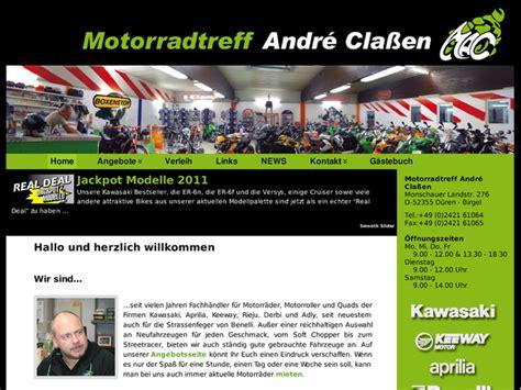 Motorrad Treff by Motorrad Treff Andr 233 223 En In D 252 Ren Motorradh 228 Ndler