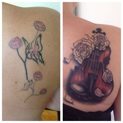 violin tattoo violin pictures to pin on tattooskid