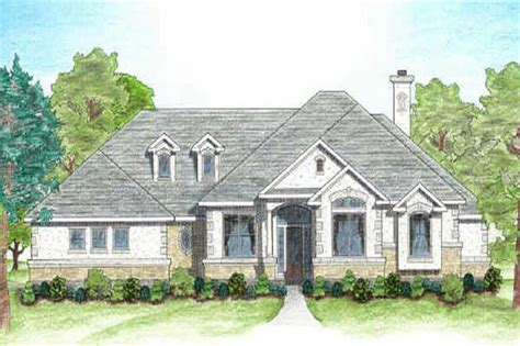 texas style house plans texas country home plan four bedrooms plan 136 1002
