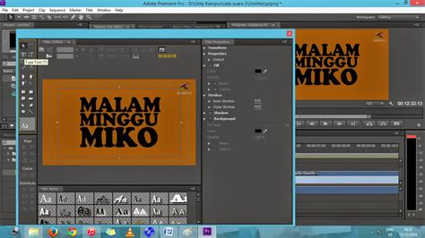 tutorial membuat video dengan adobe premiere pro tutorial editing video dengan adobe premiere pro cs6