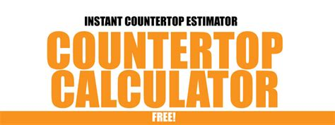 Granite Countertops Calculator by Granite Countertop Calculator Price Prg Design Fireups