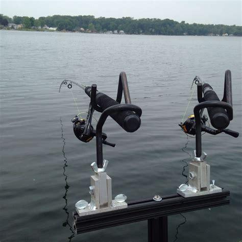 boat rod holders for trolling 2 rod holder spider rig setup mini t bar for crappie