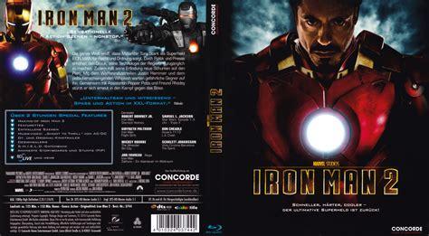 Dvd Bluray Ironman iron 2 dvd cover 2010 german