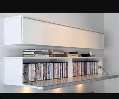Ikea besta burs wall shelf/tv unit/dvd unit white high