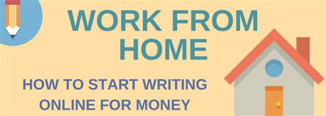 work from home how to start writing