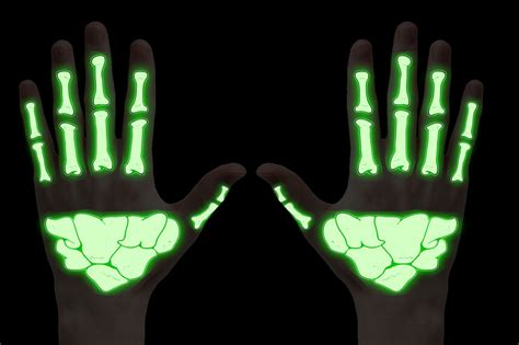 glow in the dark halloween tattoos glow in the dark skeleton hand temporary tattoo
