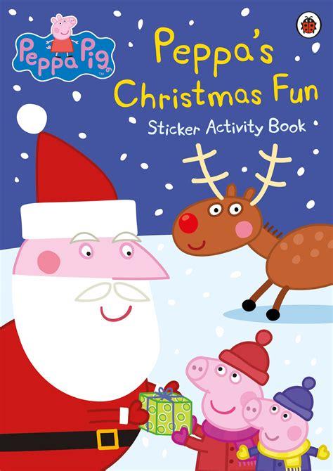 peppa pig peppas christmas fun sticker activity book penguin books  zealand