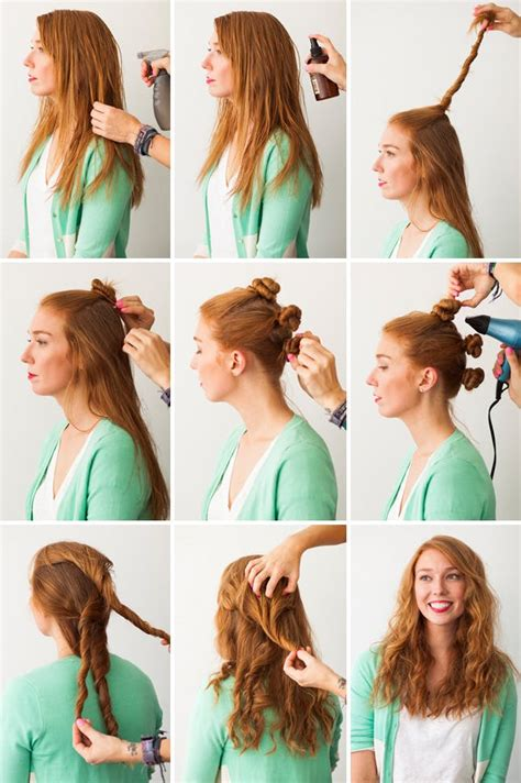 easy beachy waves hair tutorial diy sea salt spray hair hacks 3 foolproof ways to make waves brit co
