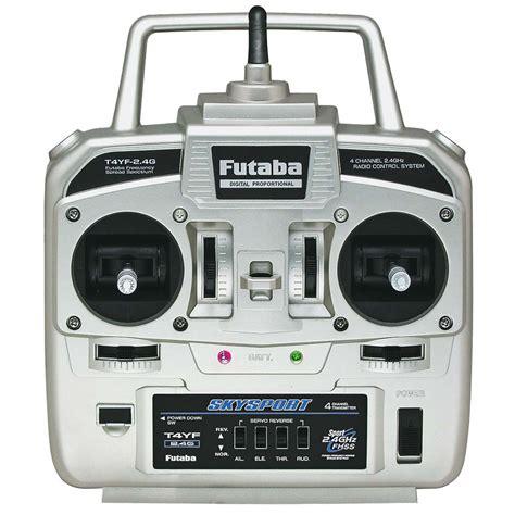 boat radio protocol futaba 4yf 4 channel fhss system towerhobbies