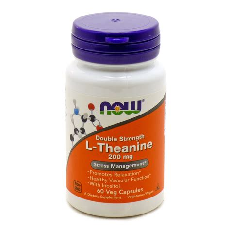 supplement l theanine l theanine 200 mg suntheanine by now foods 60 vegetarian