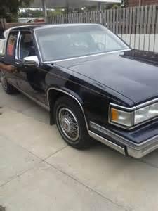1988 Cadillac Sedan 1988 Cadillac Pictures Cargurus