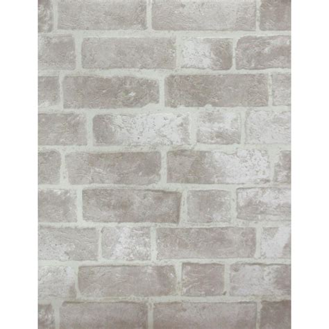grey wallpaper home depot york wallcoverings brick wallpaper he1045 the home depot