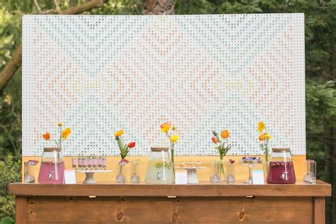 wedding backdrop board the backstory to the pegboard backdrop they so loved events wine country san francisco