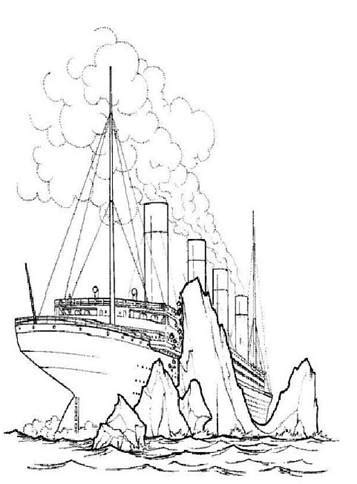 Kids-n-fun.com   30 coloring pages of Titanic