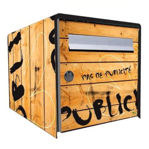 Decoration Pour Boite Aux Lettres by Stickers Bo 238 Te Aux Lettres D 233 Co No Pub Bois D 233 Coration