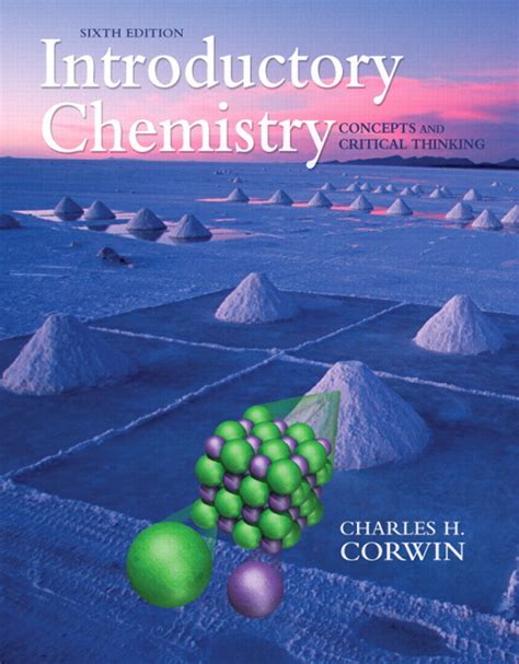 introduction to 6th edition books corwin books a la carte for introductory chemistry
