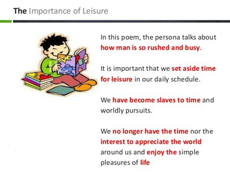 themes of education for leisure leisure themes m values