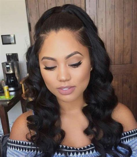 half up and have down pinterest hairstyle weave half up and have down pinterest hairstyle weave best 25