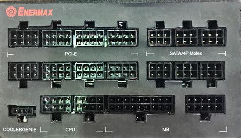 Enermax Maxtytan 800w 80 Titanium Modular Psu Emt800ewt enermax launches maxtytan 80 plus titanium up to 1250 w integrated power meter