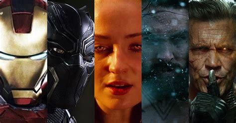 film marvel da vedere i film di supereroi da vedere nel 2018