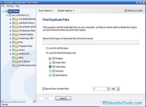 Free Information Finder Auslogics Duplicate File Finder Free For Windows