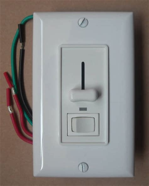 dimmer night light l single pole 3way slide dimmer switch s 600p s 603p led