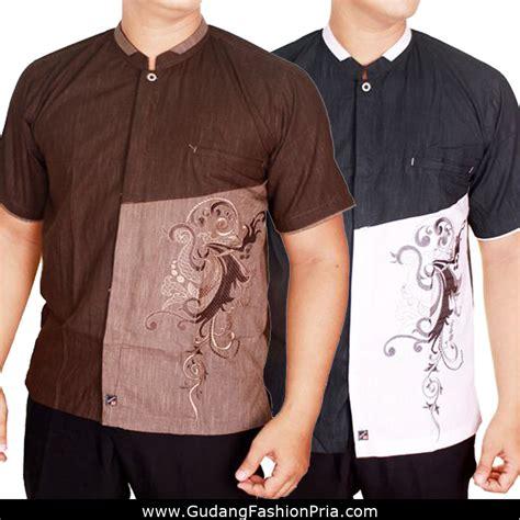 Baju Koko Pria Busana Muslim Pria Plus Celana Sp 111 12 Busana Muslim Pria Baju Koko Lengan Pendek Baju Lebaran