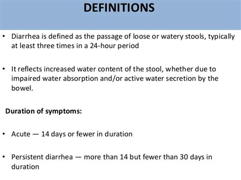 Watery Stools For 4 Days by Approach To Acute Diarrhoea