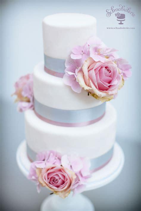 Hochzeitstorte Grau Rosa romantische hochzeit in rosa und grau