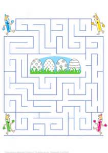 puzzle with every color easter eggs maze puzzle free printable puzzle games