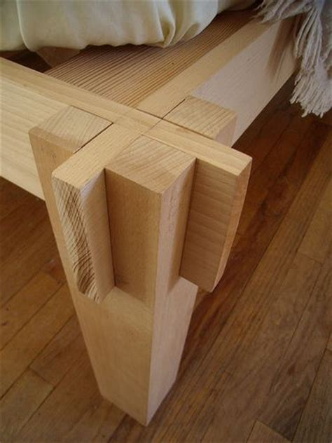 Japanese Joinery For The Next Bed Diy Wood Working Bed Frame Joints