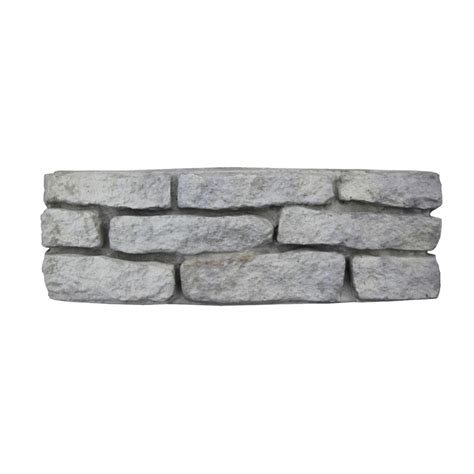 Lowes Patio Blocks by Shop Nantucket Pavers Meadow Wall Edging Patio Block