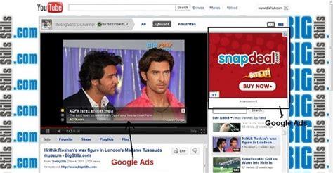 adsense google youtube google adsense program for youtube videos money from