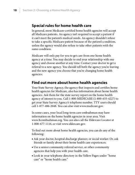 medicare home health care benefits