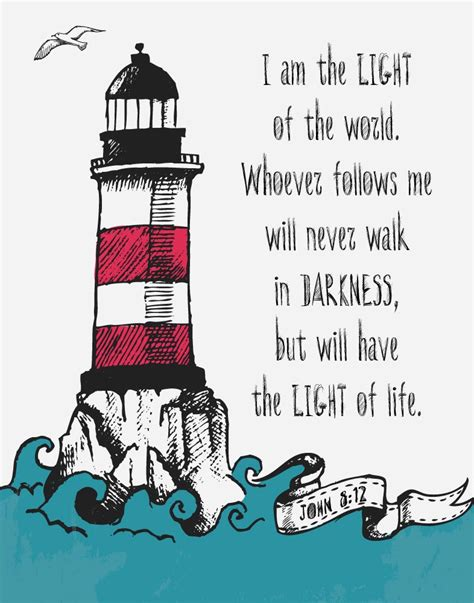 scripture about being the light i am the light of the 8 12 bible verse print