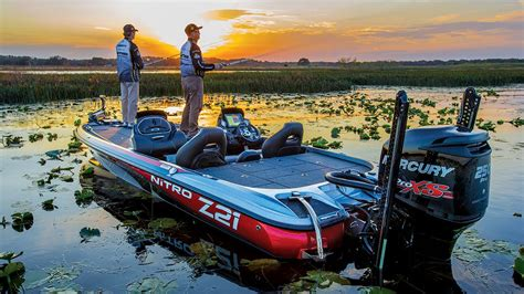 bass fishing with boat nitro boats z21 performance bass fishing boat youtube