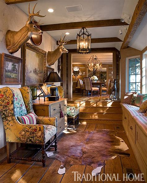 Rustic Home Decor Magazines 17 Best Ideas About Hunting Lodge Interiors On Pinterest