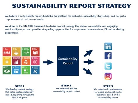 Writing A Report On Sustainability by Sustainability Reports Trend Briefing