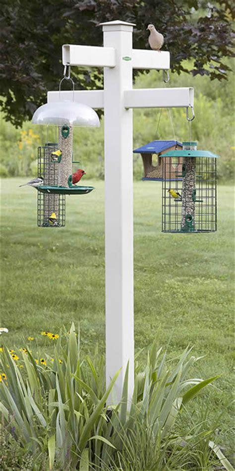 duncraft com duncraft masterpiece quad 4 x 4 bird feeder post