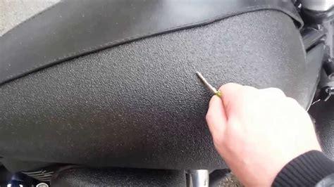 rustoleum bed liner spray bedliner on motorcycle youtube
