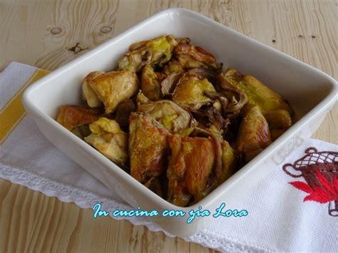 cucinare funghi porcini secchi pollo in padella con porcini secchi ricetta ed
