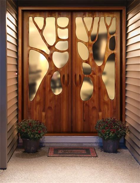 Unique Front Doors Unique Door Designs By Victor Klassen Home Design Garden Architecture Magazine