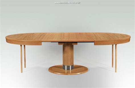 Table Ovale Bois by Table Moderne En Bois Massif Table Ovale Contemporaine En