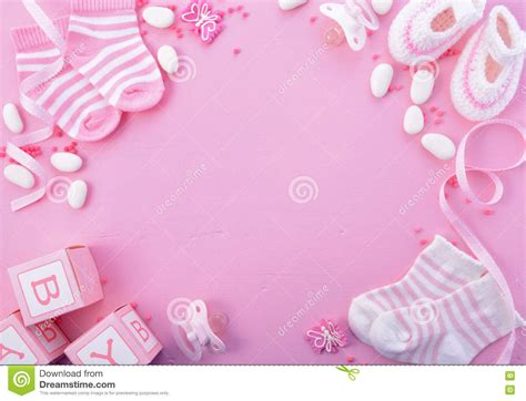 Pink Baby Shower Background by Pink Baby Backgrounds Www Pixshark Images