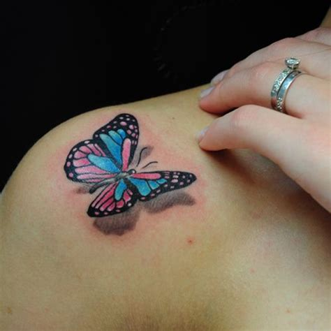 small 3d butterfly tattoos 15 3d butterfly designs you may