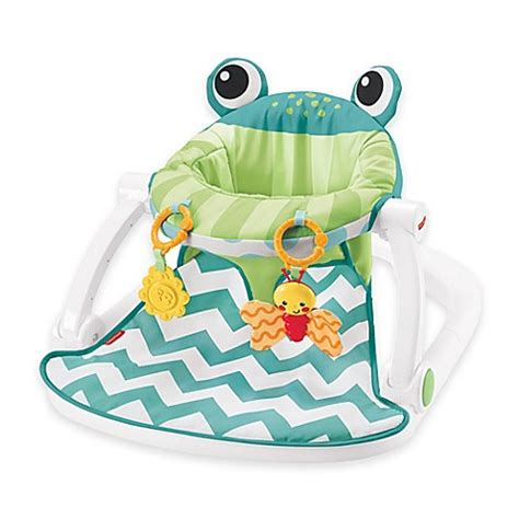 baby sit up seat asda fisher price 174 sit me up frog floor seat in citrus buybuy
